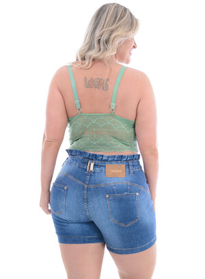 Top Plus Size Verde
