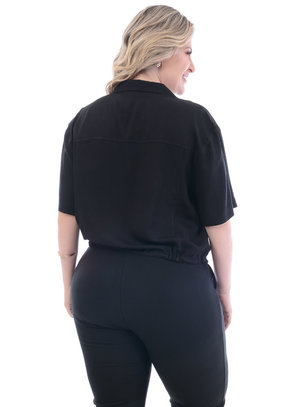 Cropped Plus Size Canopus
