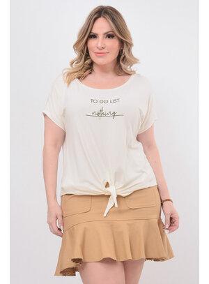 T-Shirt Plus Size de Nozinho