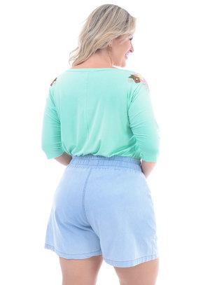 Blusa Plus Size Cajá