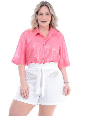 Camisa Plus Size Estonteante
