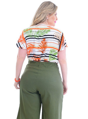 Blusa Plus Size Agnes