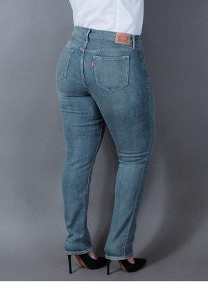 Calça Levi s Jeans Feminina 311 Skinny Preta Best Size - Loja ... bca34c195f4