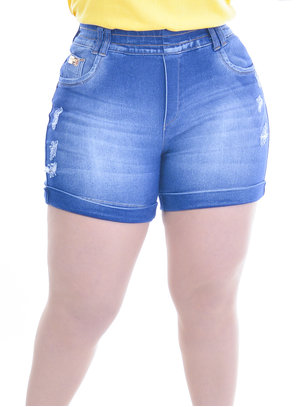 Shorts Plus Size Equatorial