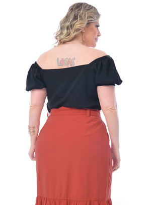 Cropped Plus Size Livia