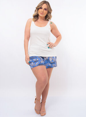 Regata Plus Size Básica
