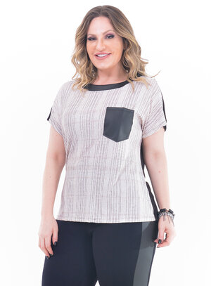 Blusa Plus Size Veterana