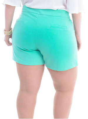 Shorts Plus Size Bordado
