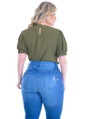 Blusa Plus Size Saragoça