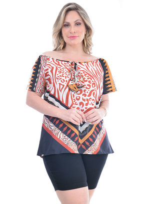 Blusa Plus Size Romilda