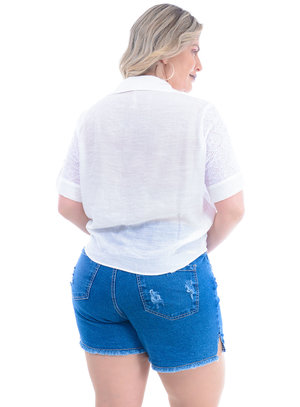Camisa Plus Size Pacífica