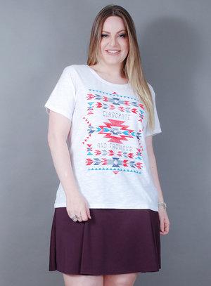 T-Shirt em Algodão Elaborate and Fabulous Wee!