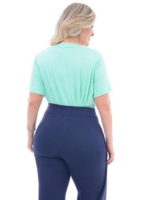 Blusa Plus Size Caqui