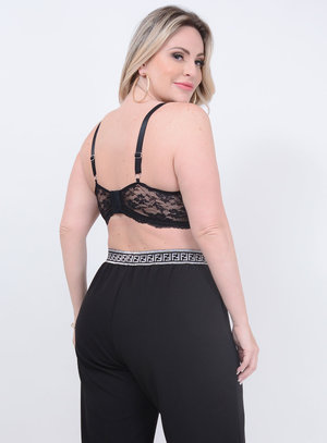 Top Renda Bojo Plus Size