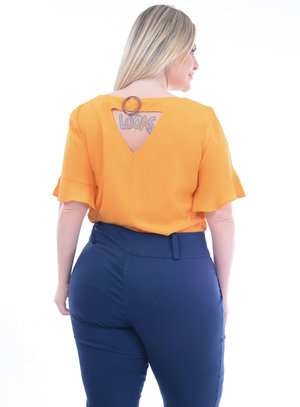 Blusa Plus Size Dióspiro