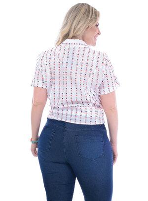 Camisa Plus Size Bonnie