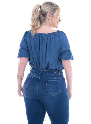 Blusa Plus Size Cinira