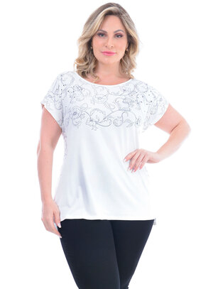Blusa Plus Size Mariete