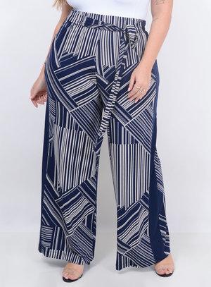 Calça Melinde Pantalona Plus Size
