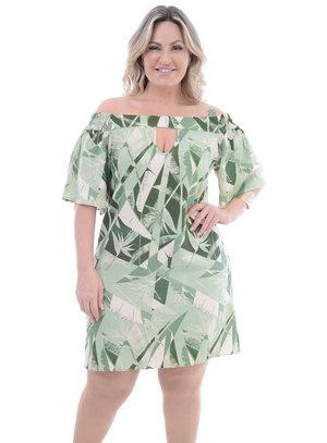 Vestido Plus Size Monte Verde