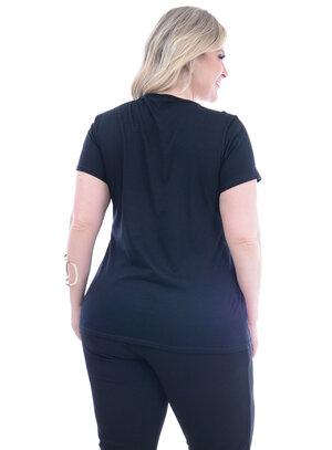 T-Shirt Plus Size Dinamarca