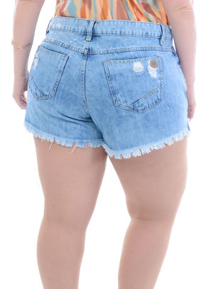 Shorts Jeans Plus Size Clara
