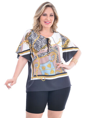 Blusa Plus Size Rosângela