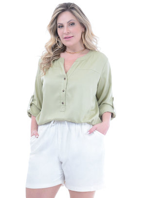 Blusa Plus Size Christine