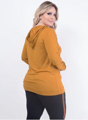 Blusa Ekori Moletinho Plus Size