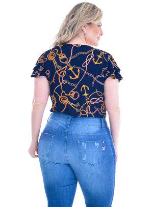 Blusa Plus Size Tarrasa