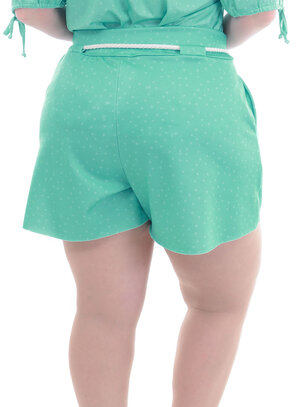 Shorts Plus Size Flórida