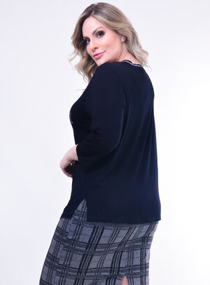 Blusa Plus Size Be
