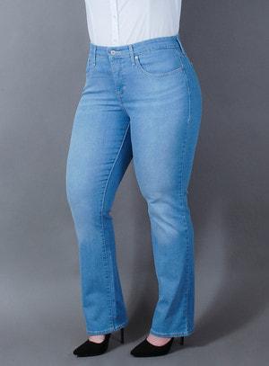 Calça Levi's Jeans Feminina 314 Straight