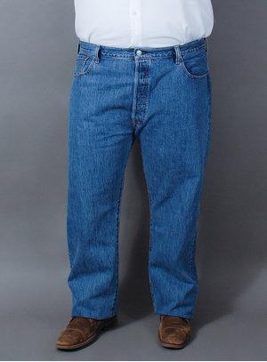 Calça Levi's Jeans Masculina 501 Original Fit Tradicional