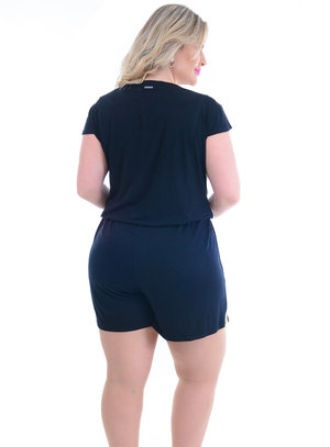 Macaquinho Plus Size Laura