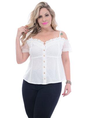 Blusa Plus Size Lirio
