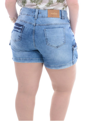 Shorts Jeans Plus Size Terra