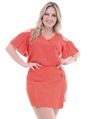 Blusa Plus Size Salinas