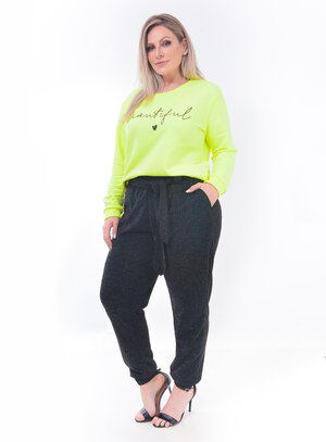 Moletom Neon Plus Size