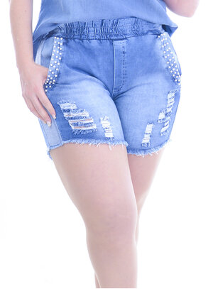 Shorts Plus Size Amplitude