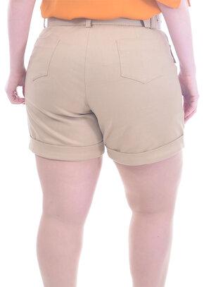 Short Plus Size Sândalo
