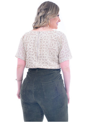 Blusa Plus Size Piccadilly