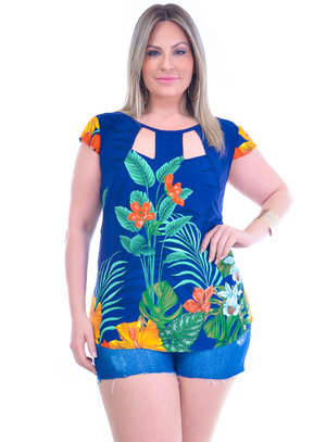 Blusa Plus Size Virgínia