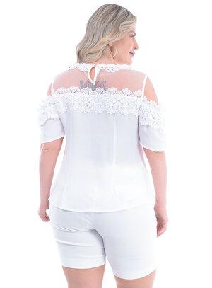 Blusa Plus Size Querida