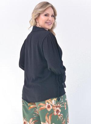 Blusa Plus Size Social