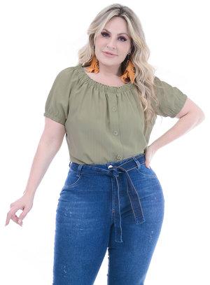 Blusa Plus Size Marcia