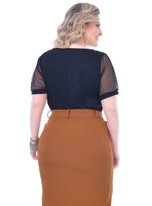Blusa Plus Size Ouvir