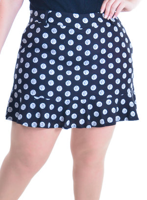 Shorts Saia Plus Size Cuiabá