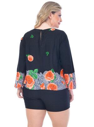 Blusa Plus Size Unica