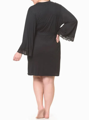 Robe Plus Size Calvin Klein Renda